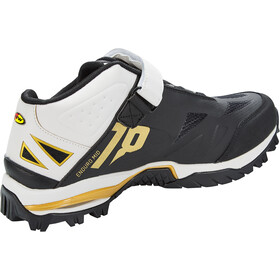Northwave Enduro Botas Corte Medio Hombre, black/off white/gold